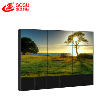 factory price 1.8mm super narrow bezel videowall