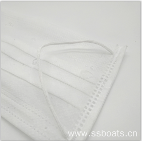3 - ply face mask disposable nonwoven fabric