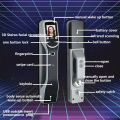 Automatic intelligent door lock