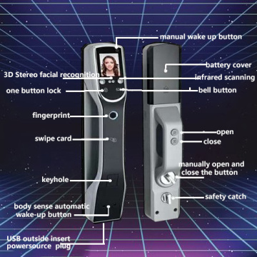 2020 New design fingerprint door lock