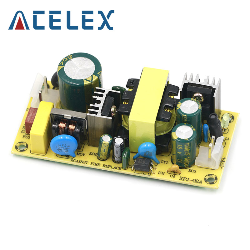 AC-DC 12V3A 24V1.5A 36W Switching Power Supply Module Bare Circuit 220V to 12V 24V Board for Replace/Repair