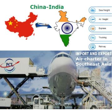 Reliable shipping agent cost to India from CHN