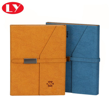 Professinal diary or business agenda notebook