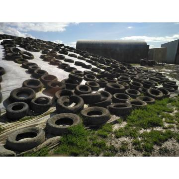 High tear strength silage covering on the farm