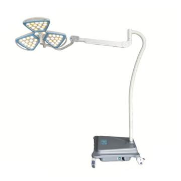 Hospital portable petal examination light with battery