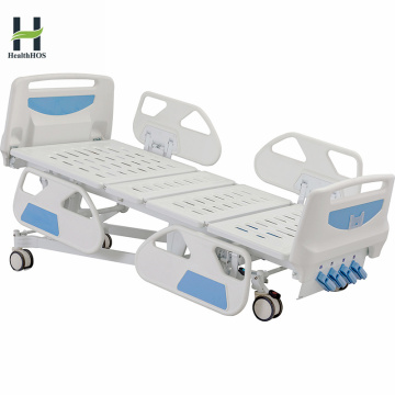 Medical durable five function manual sickbed multi function sickbed