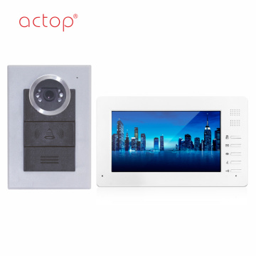 Home Wired Doorbell Video Intercom System