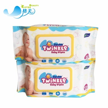 Disposable Custom Baby Wipes With Plastic Lid