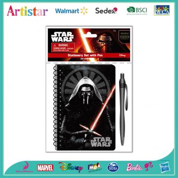 STAR WARS opp bag packing stationery set