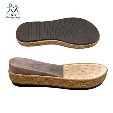 Pvc Sole for Women Jute Sandals