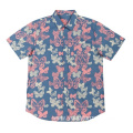 Fashion Men's Woven Cotton Shirts in summer