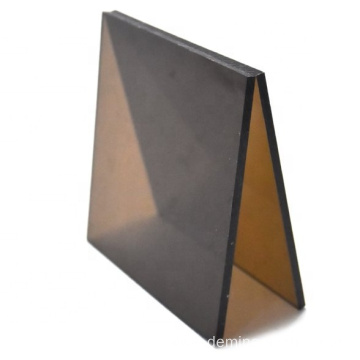 Bronze color polycarbonate sheet solid plastic sheet