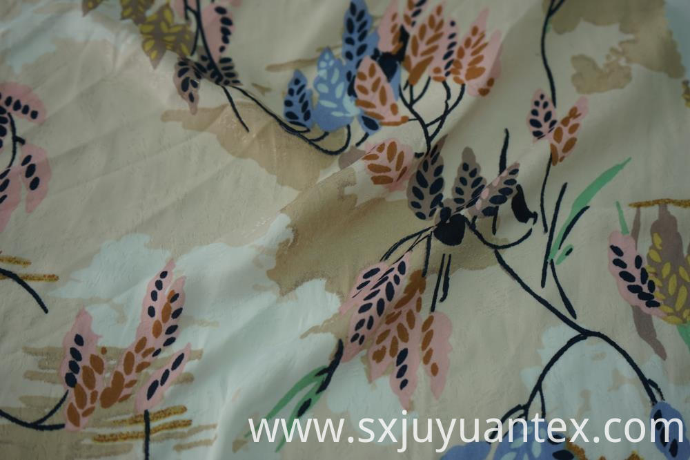 Polyester Meteor Jacquard Fabric