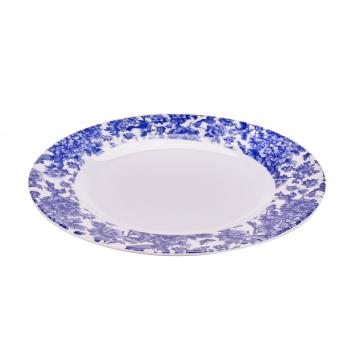 "9"" Melamine Round Plates Set of 4"
