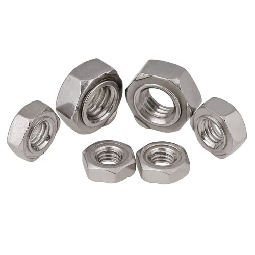Steel Square Weld Nuts DIN928