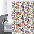 Waterproof Bathroom printed Shower Curtain Dimensions