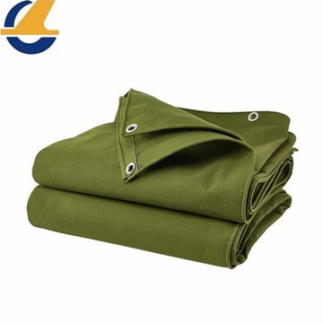 Tents roof use polyester canvas tarps