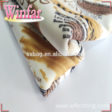 Creative Design Printed 600 Denier Polyester Fabric