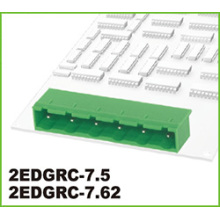 Electrical Plastic Pluggable Type PCB Terminal Block