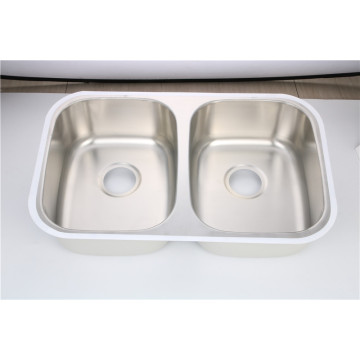 Double Bowl Kitchen Sink 7447A