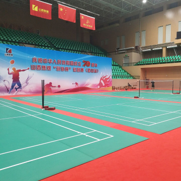 BWF badminton sports flooring