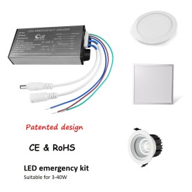 40W Durable Emergency Driver For Downlight