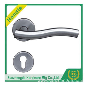 SZD STH-107 Made In China Stainless Steel On Rose Door Lever Handle And Lock with cheap price