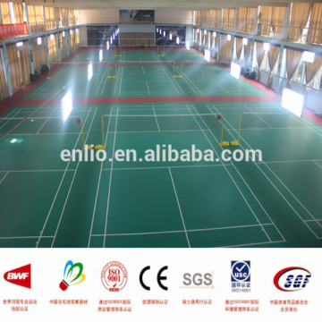 Snake skin pattern PVC indoor badminton sports floor