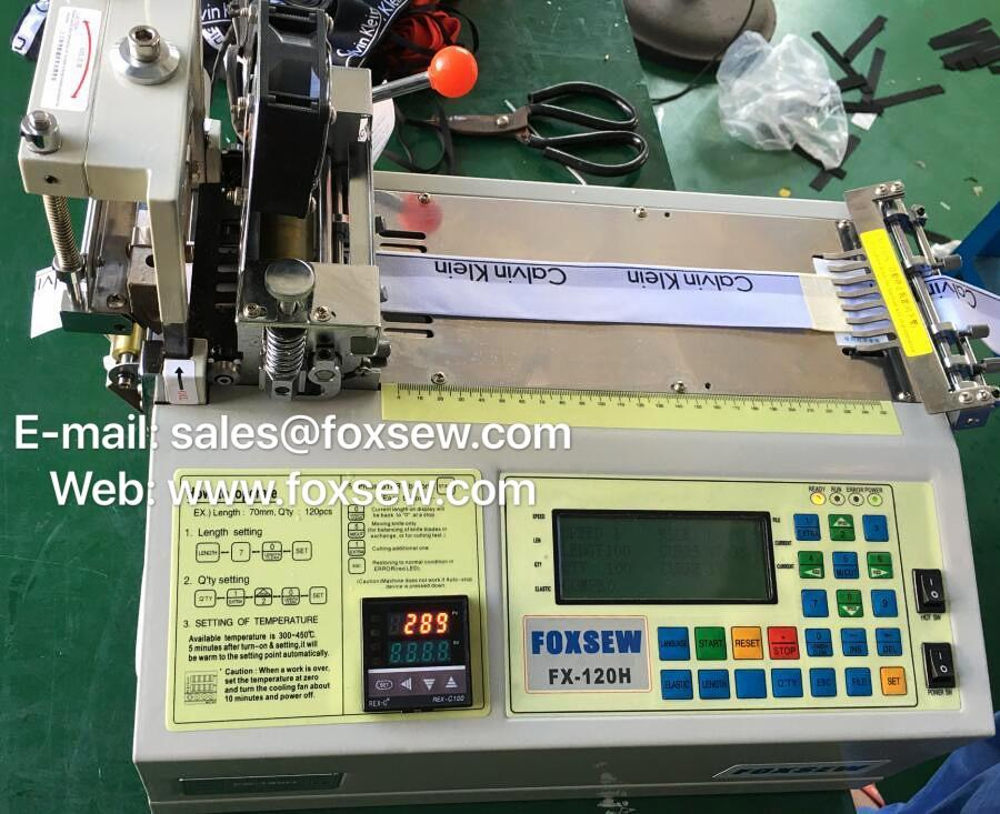 Automatic Elastic Cutting Machine -5
