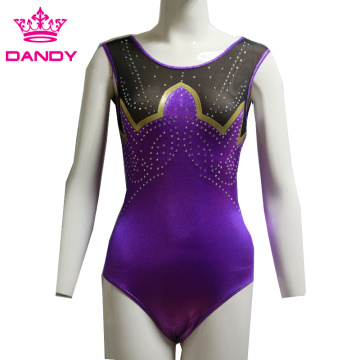 ʻO Gymnastics Competition Sleeveless Leotard