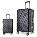 Hare shell shiny travel world trolley luggage