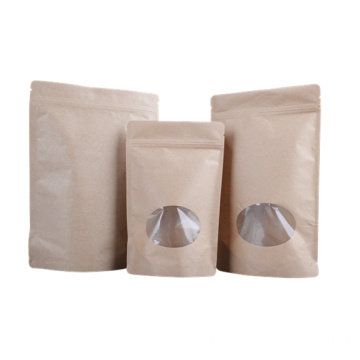 Window Bags/Stand up Bags with Ziplock