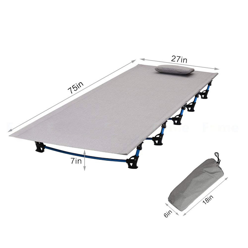 Folding Tent Camping Cot Bed size