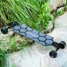74A PU wheel electric longboard