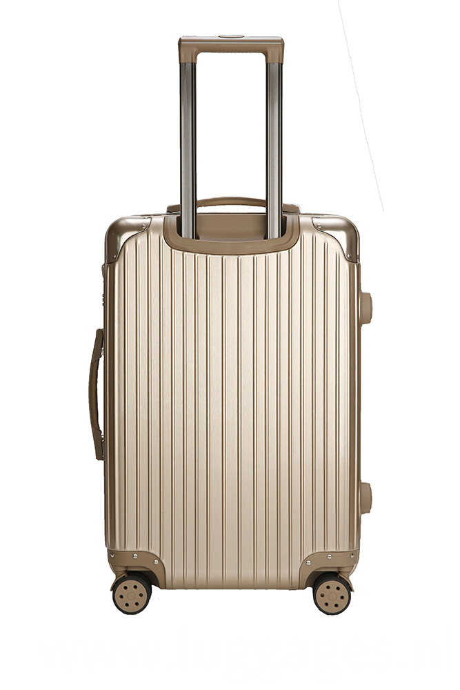 Stylish Striped Style Suitcase