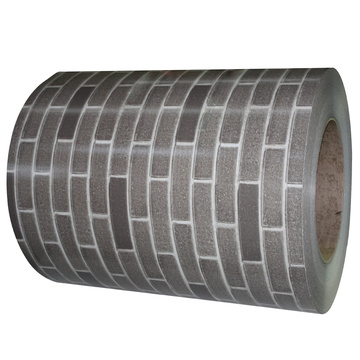 Brick grain steel sheet