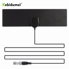 kebidumei 50 Miles HDTV Indoor TV Antenna DVB-T2 HD 1080P Digital Amplifier High Gain Satellite Receiver Built-in Car Antenna