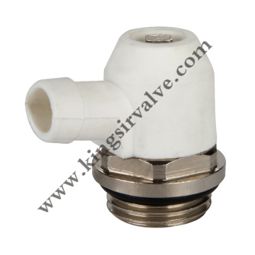 Air evacuation valve