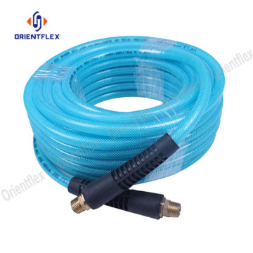 Polyurethane braided air pneumatic hose