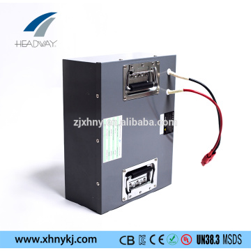 long life rechargeable lithium-battery 24V40Ah for forklift