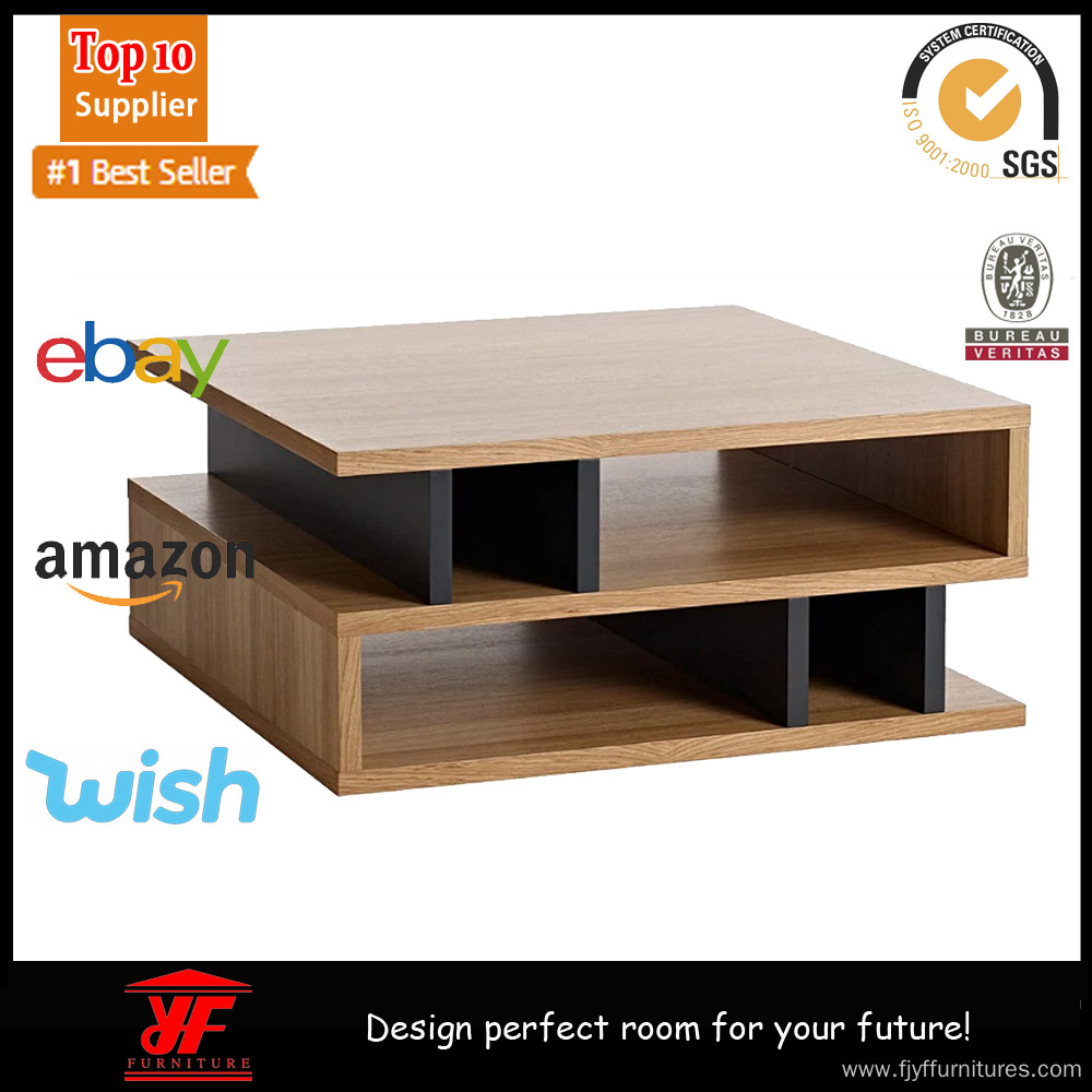 Walnut Large Square Coffee Table Near Me