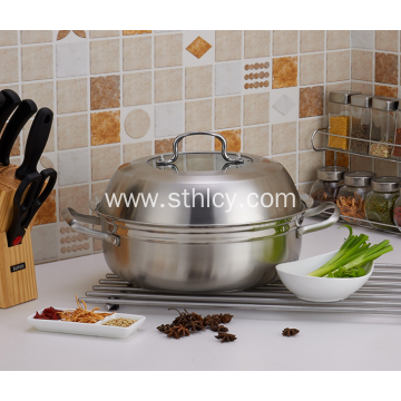 Stainless Steel Multifunctional Steamer Pot