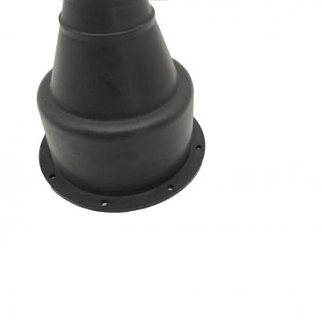 Small silicone rubber roof flashing for mini pipe