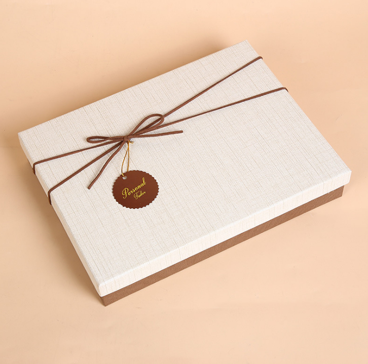 Scarf paper packaging box