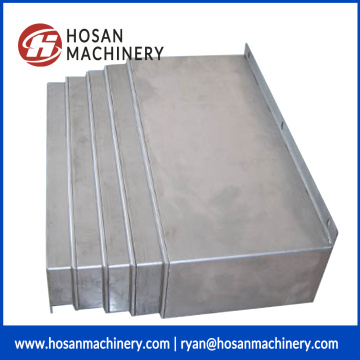 Steel plate Telescopic guideway cover