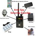 Best 1MHz-8000MHz Wireless Signal Detector Radio Wave WiFi Bug Finder Camera Full-Range RF Detectors G318