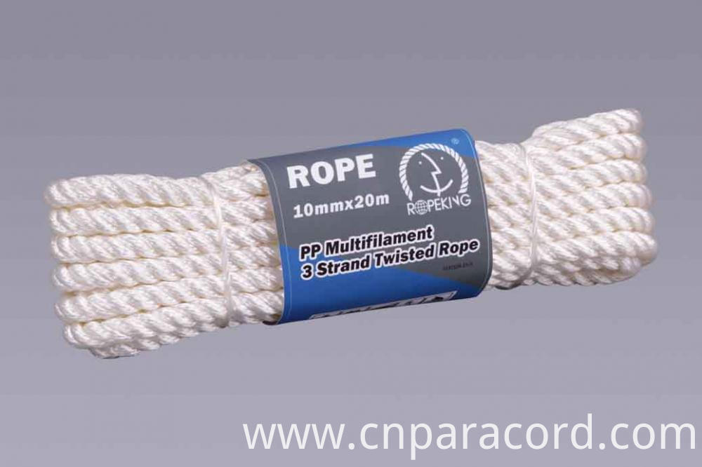Pp Multi Twisted Rope