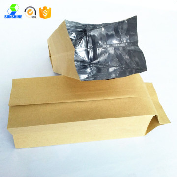 Aluminum foil kraft food bag