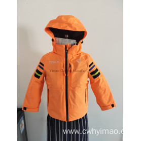 New Style Waterproof Woven Children's Outerwear