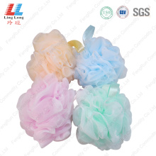 Double mesh lightly sponge ball
